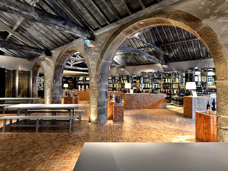 Porto wine cellars