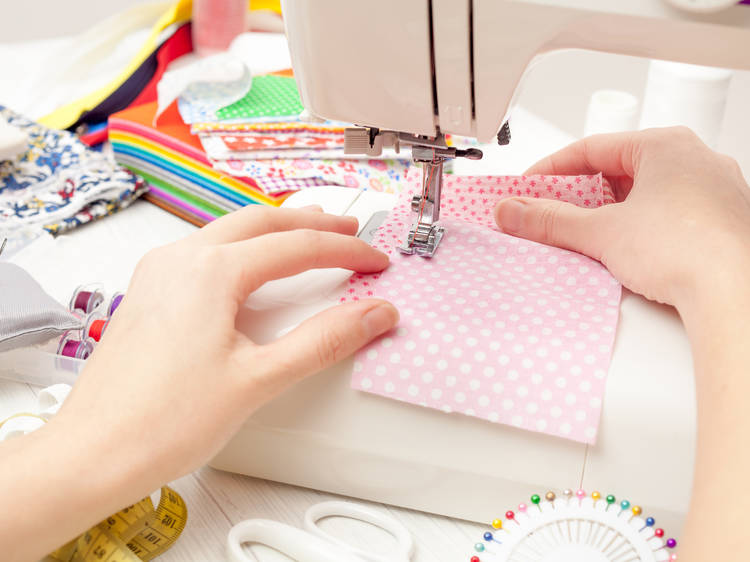 Hem and Button Workshop at M Avery Designs