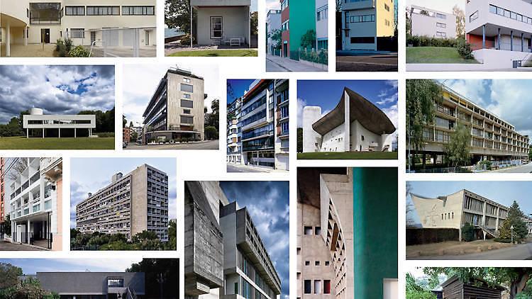 Construcciones del arquitecto Le Corbusier