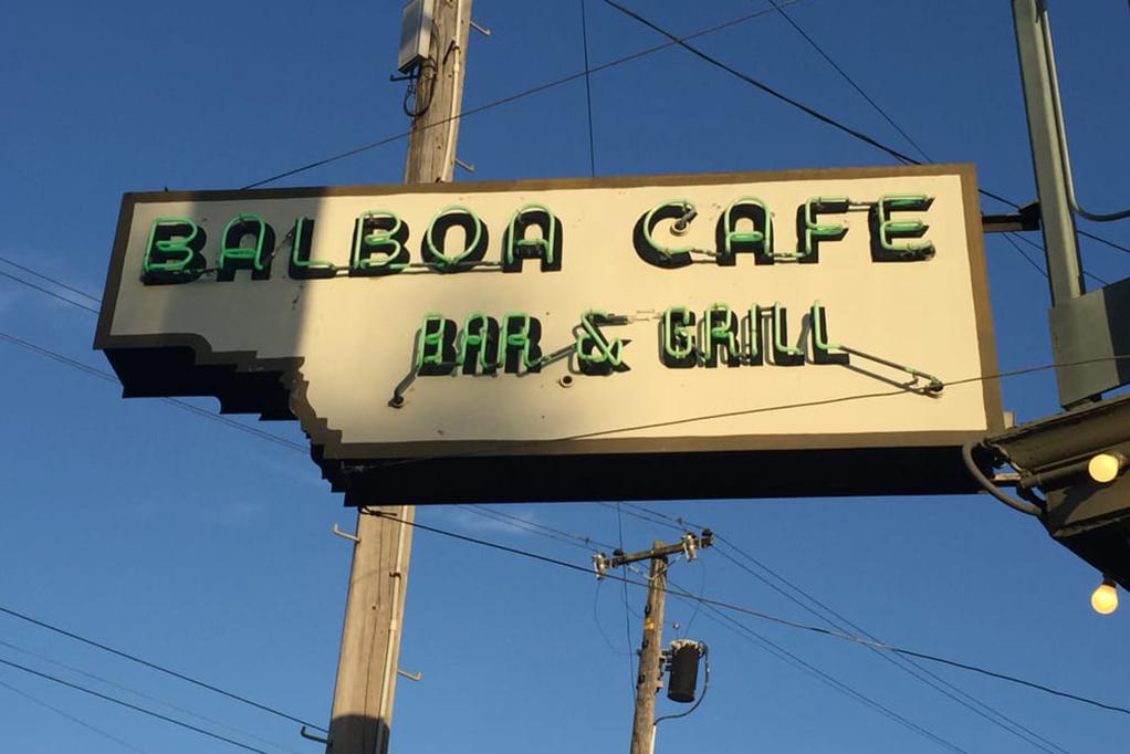 Baboa Cafe in San Francisco