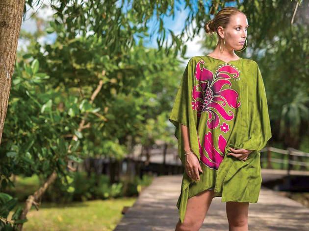 Vibrant and exotic Batik