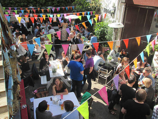 The best beer gardens in the city