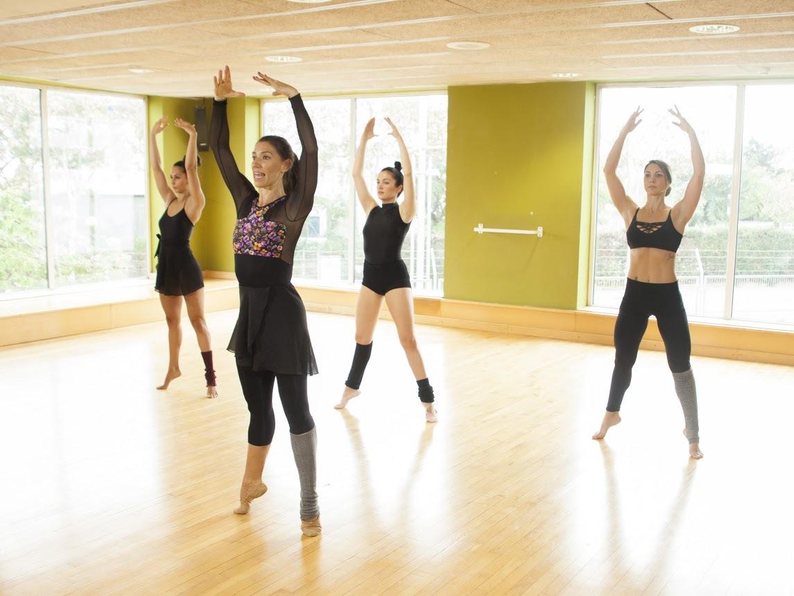 Clases de ballet en los gimnasios