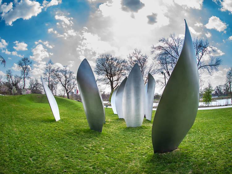 See Yoko Ono's installation in Jackson Park