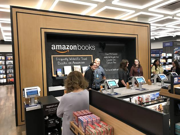 Take a first look inside Amazon's new NYC bookstore