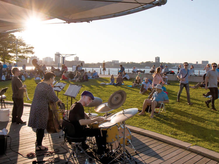 July 7: Jazz at Pier 84 and Sunset on the Hudson