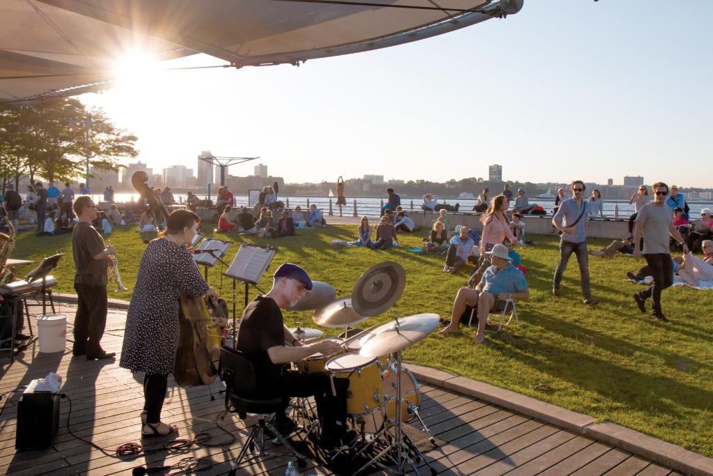 Jazz @ Pier 84 & Sunset on the Hudson @ Pier 45