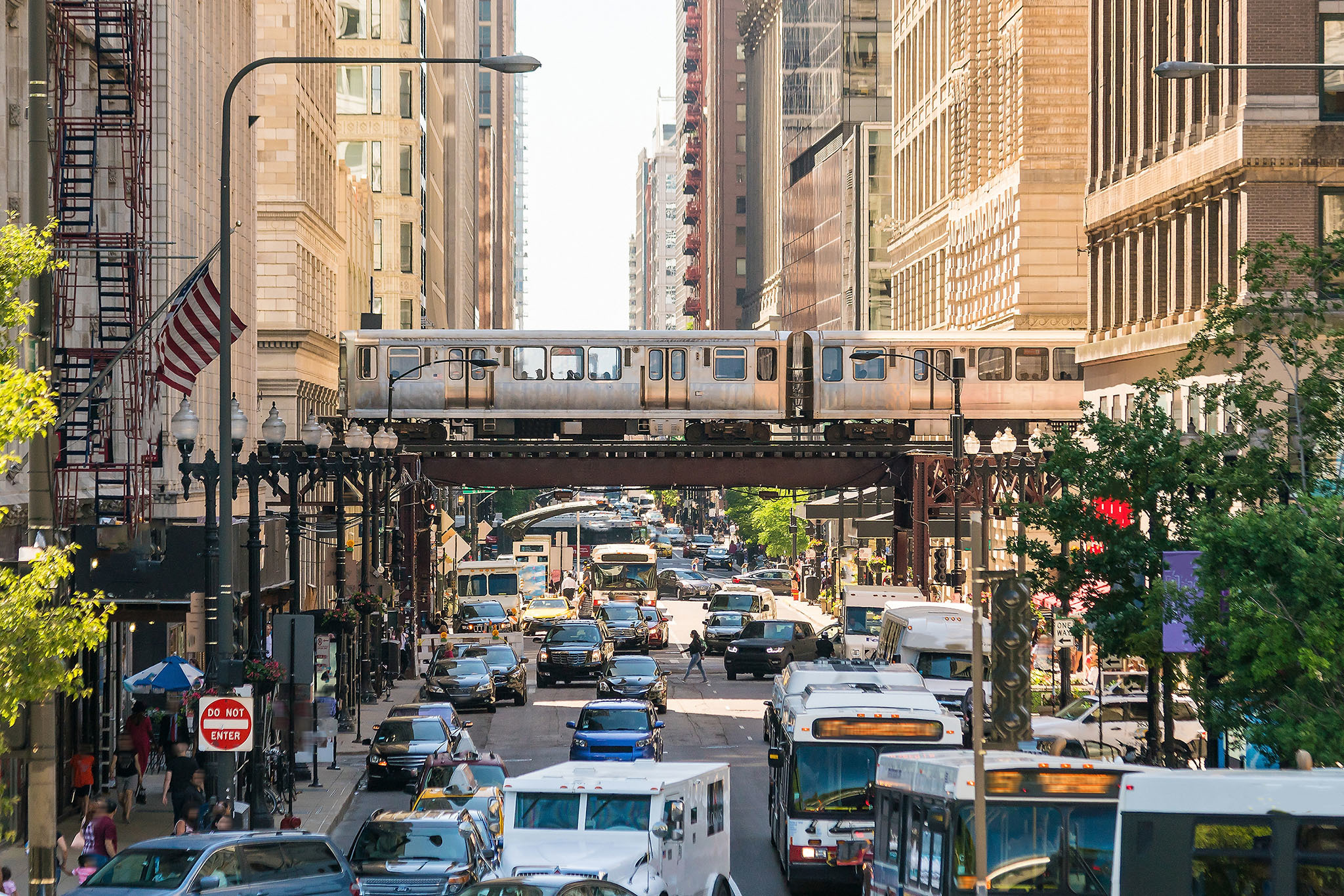 Chicago's population is shrinking, but it's also centralizing