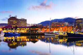 Hobart waterfront photograph