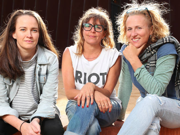 Feminist performers Zoë Coombs Marr, Adrienne Truscott and Ursula Martinez talk back to their critics in their show Wild Bore