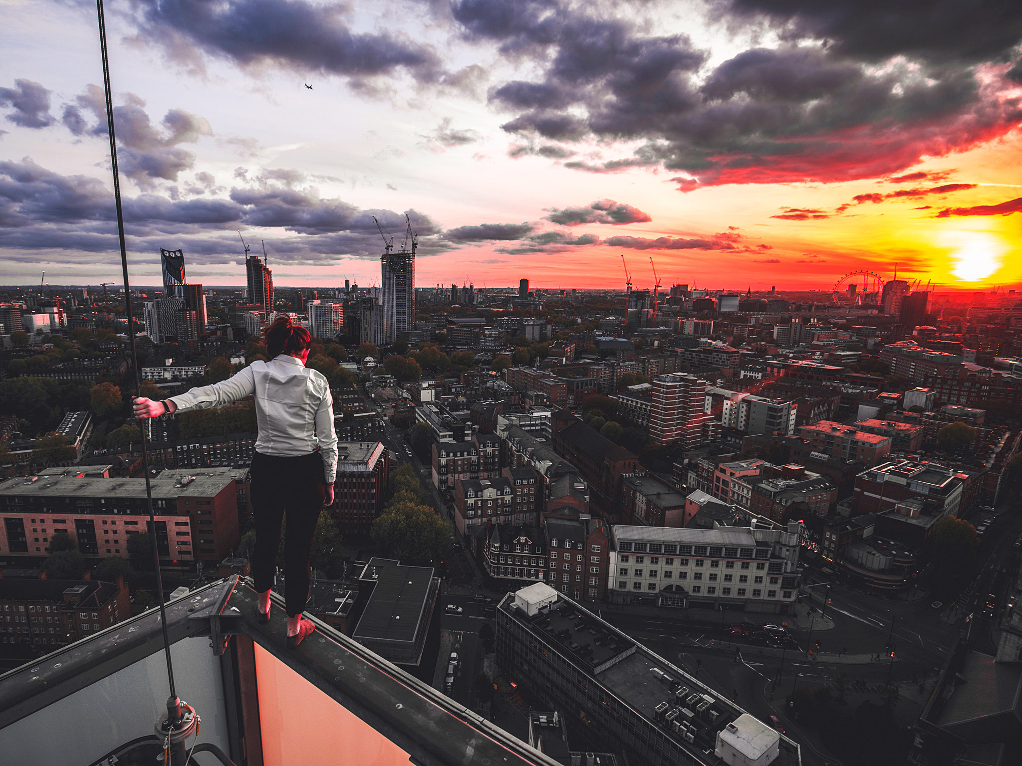 'They call us reckless daredevils': meet one of London's death-defying 'rooftoppers'