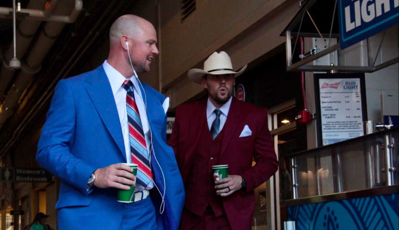 Cubs stay classy with 'Anchorman'-themed road trip
