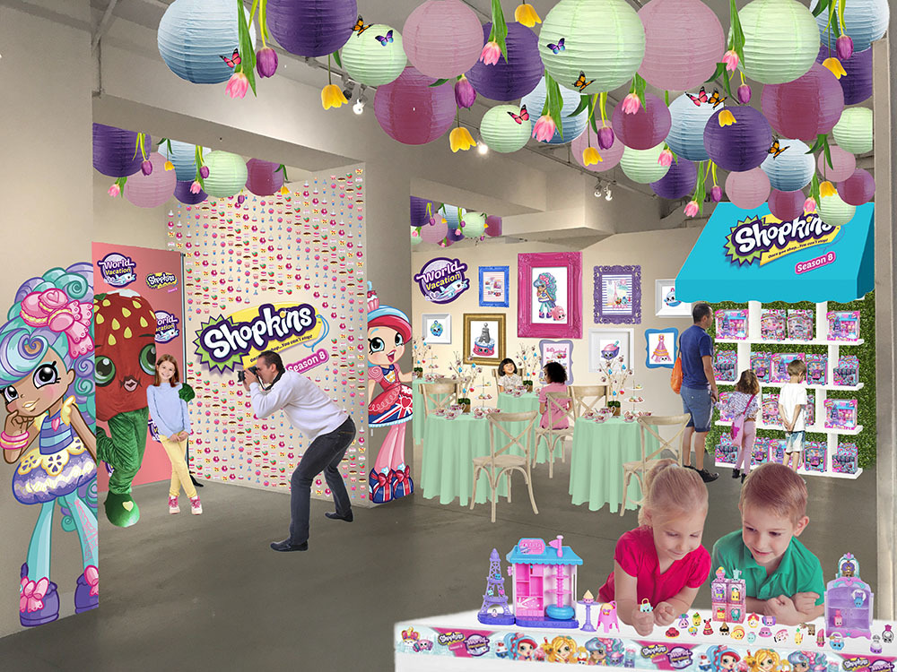 A Shopkins pop-up café is opening in NYC this summer!