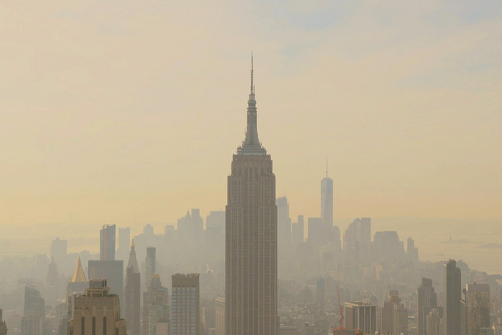 NYC has some of the worst smog pollution in the country