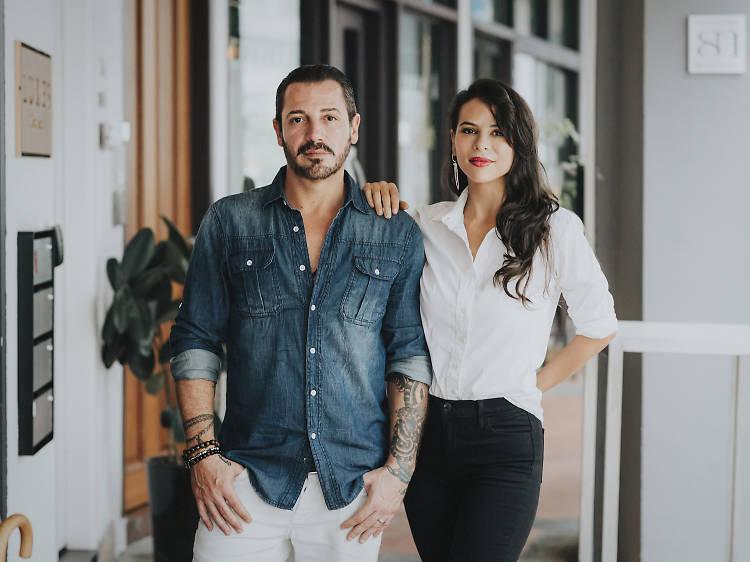 Josh Schwartz & Sarissa Rodriguez Schwartz