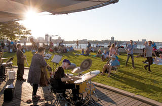 Free music in Hudson River Park!