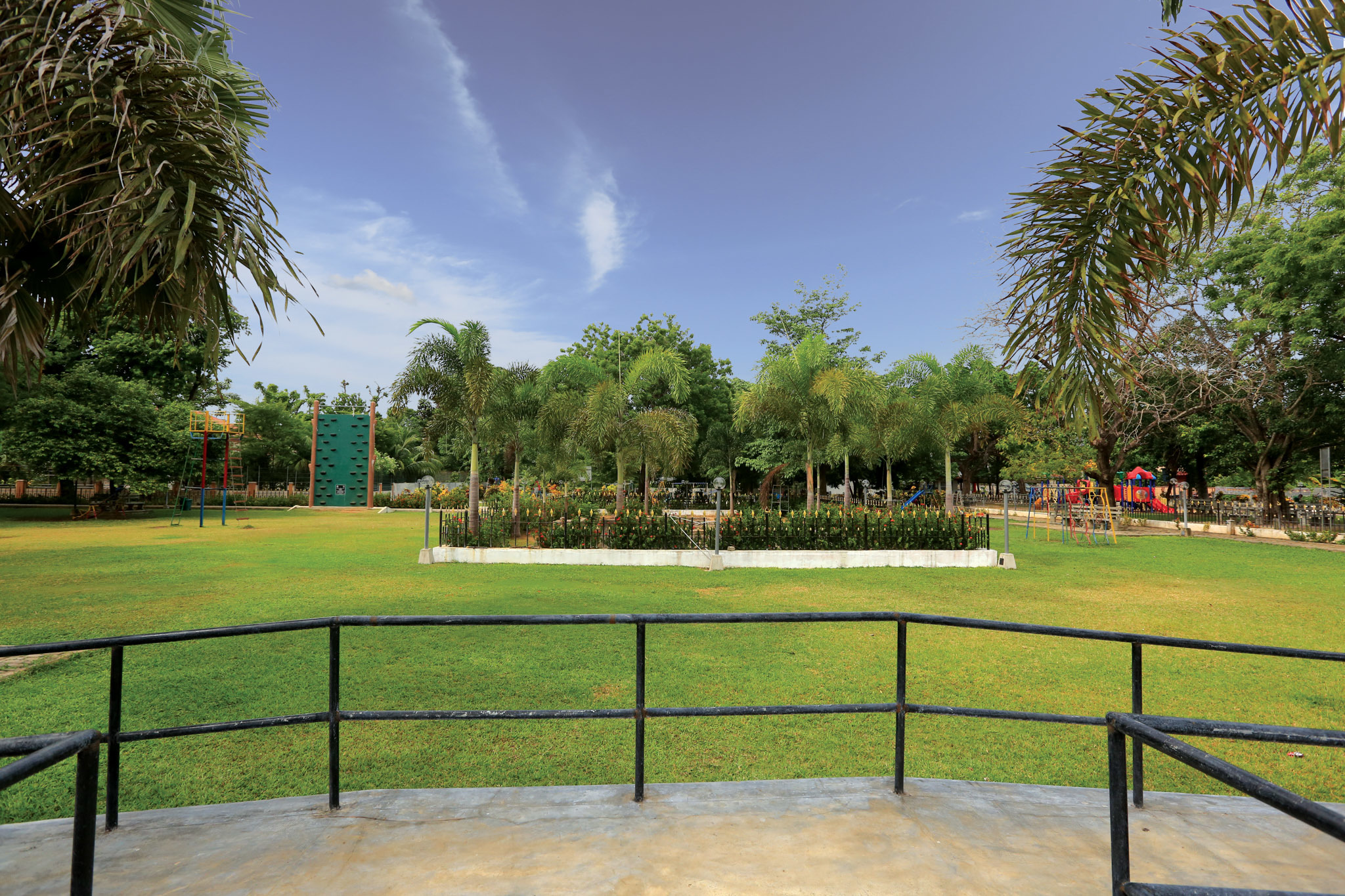 Enjoy an evening out at the children's park in Jaffna