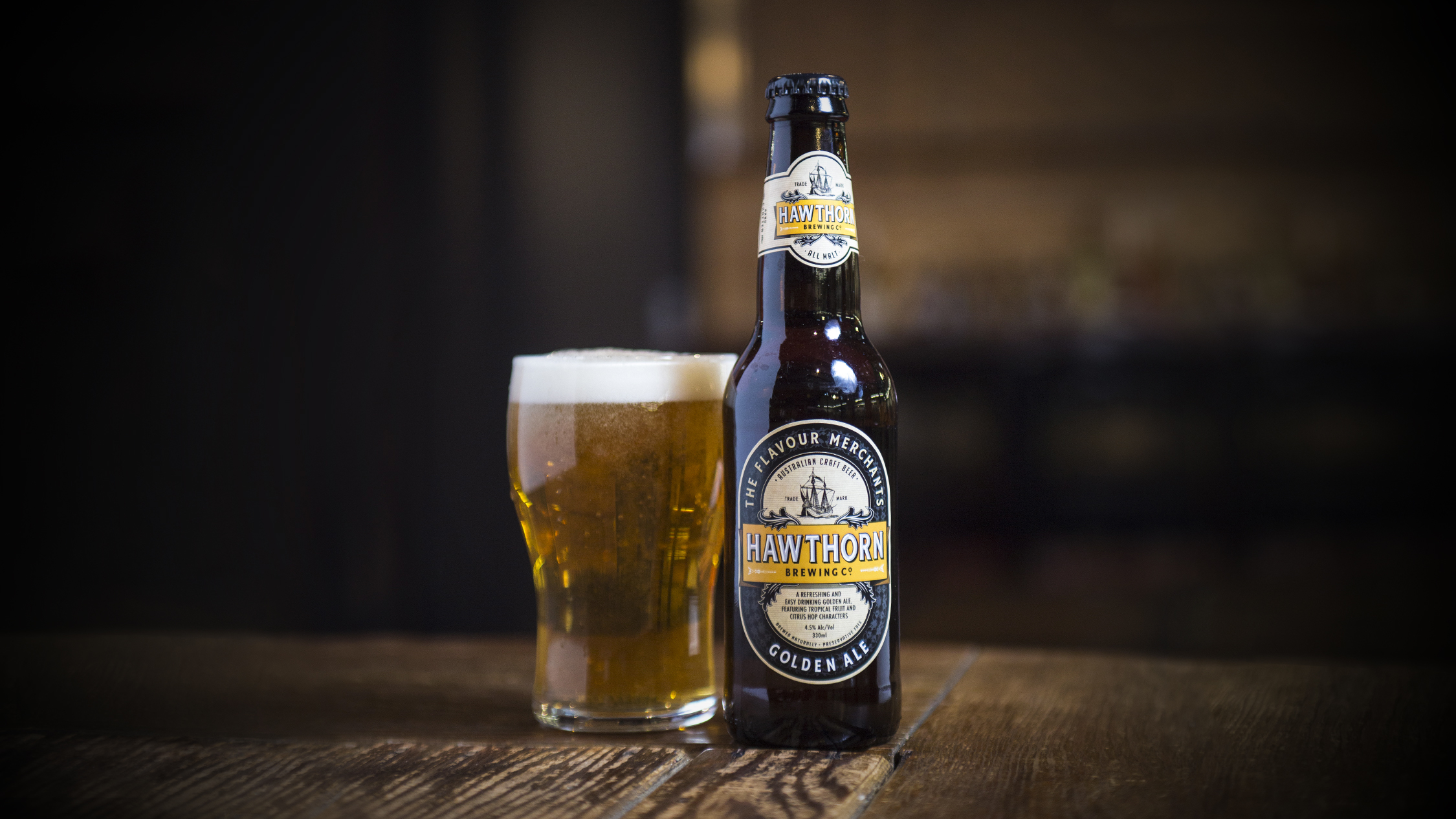 Hawthorn Brewing Co Golden Lager