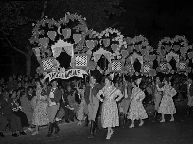 Desfile das marchas populares, marcha de Campo de Ourique, 1955-06
