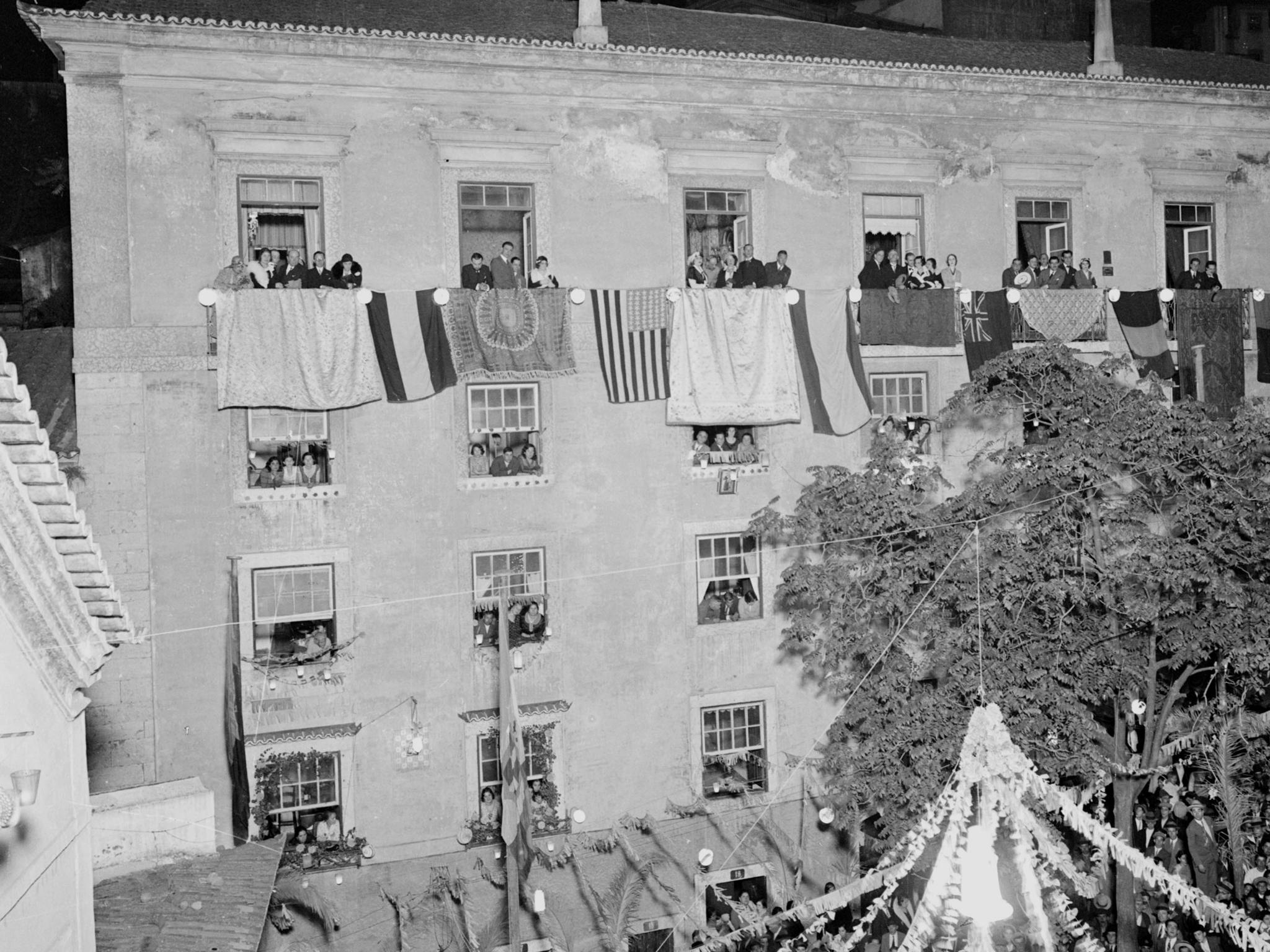 Promoção turística de Portugal, festa dos Santos Populares em Alfama, entre 1930-39