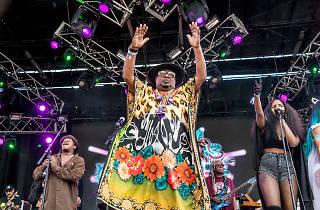 8468782q, Mandatory Credit: Photo by Amy Harris/REX/Shutterstock (8468782q)George ClintonOkeechobee Music Festival, Day 2, Okeechobee, Florida, USA  - 04 Mar 2017