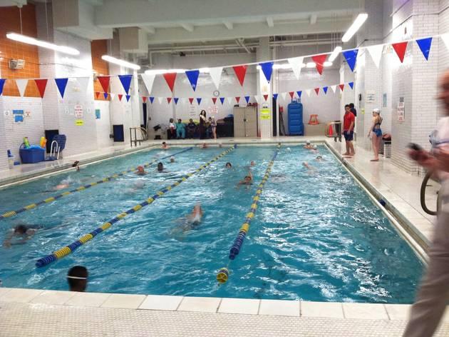 Camp Olympia Family Swim