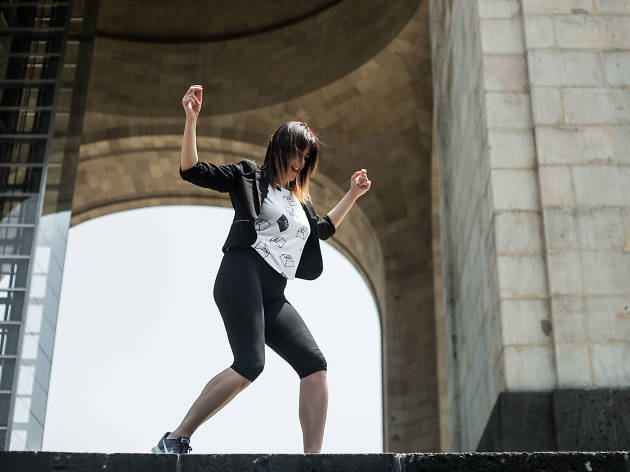 La coreógrafa Mariana Arteaga