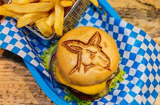 Munich Brauhaus North Melbourne Burger