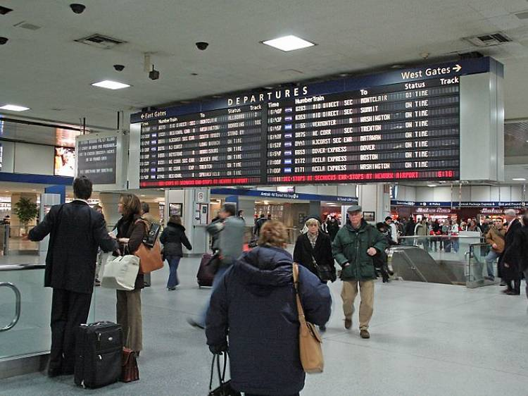 Discover remnants of the old Penn Station