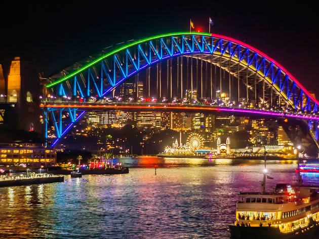 Where to eat during Vivid Sydney