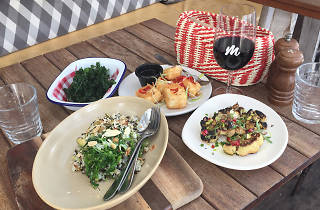Vegan and Vines Dinner at Manly Wine Bar