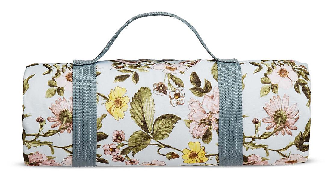 Festival essentials: Dovecote Floral Picnic Blanket