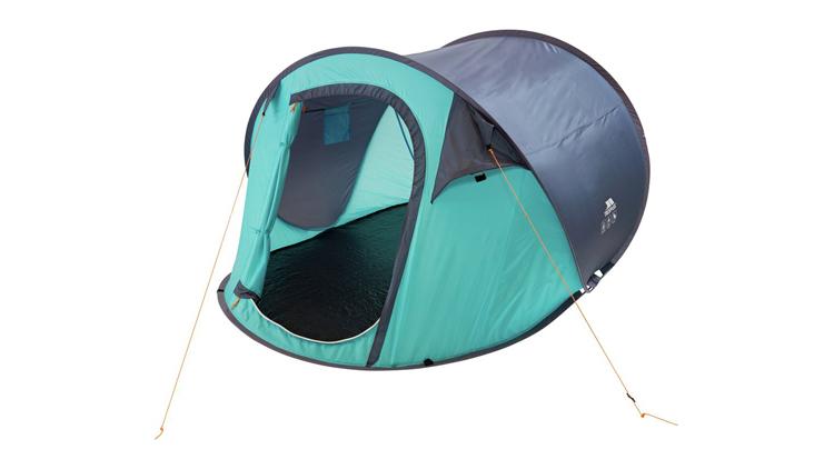 Festival essentials: Trespass 3 Man 1 Room Festival Pop Up Tent