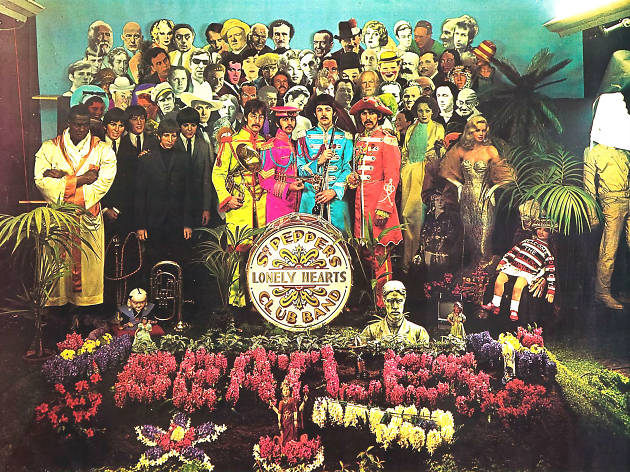 The Beatles de Sgt. Pepper's Lonely Hearts Club Band