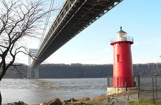 Your one chance to go inside this adorable little red lighthouse is this Saturday