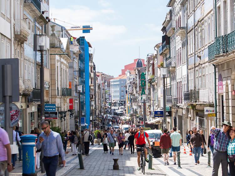 A Rua de Santa Catarina tem um Património Mundial da UNESCO