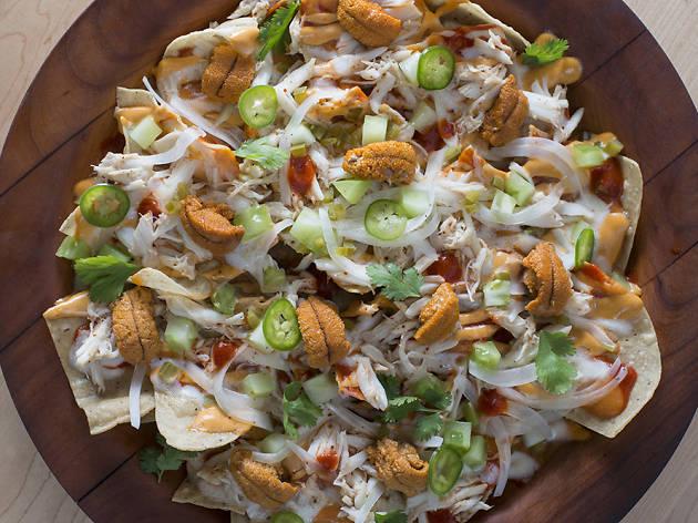 <p>Crab nachos at Empellón</p>