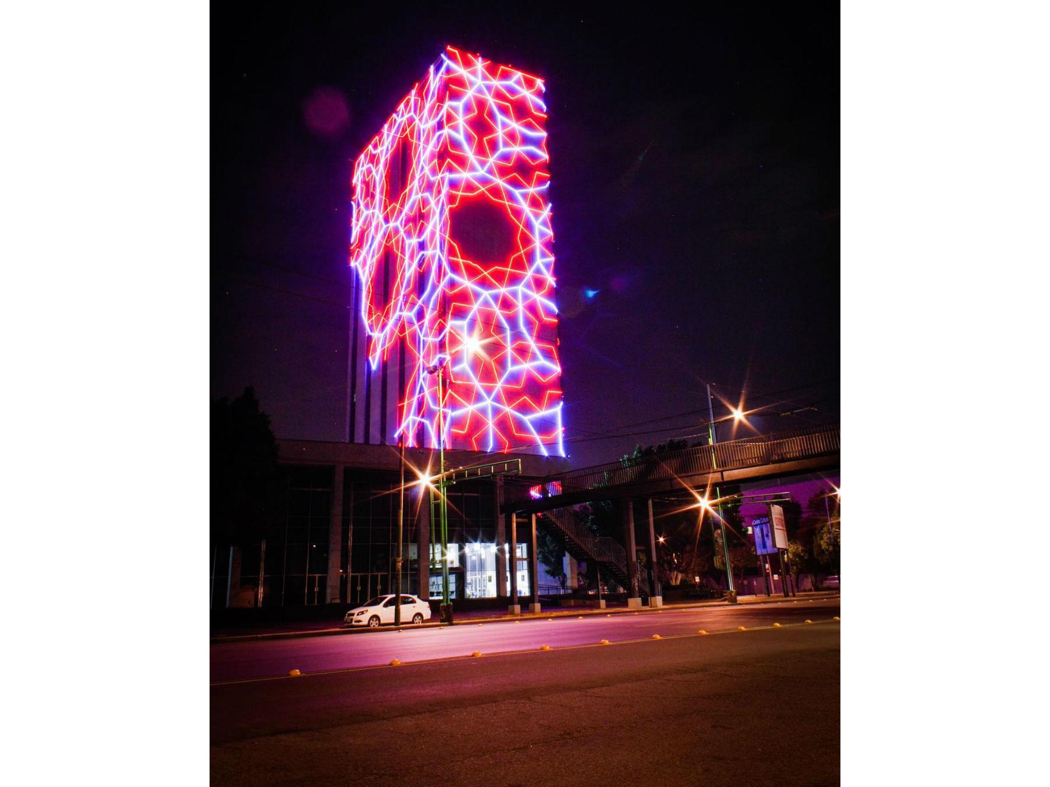 CCU Tlatelolco de noche