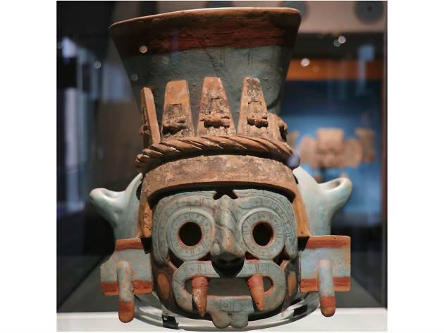 Escultura de Tlálolc en el Museo del Templo Mayor