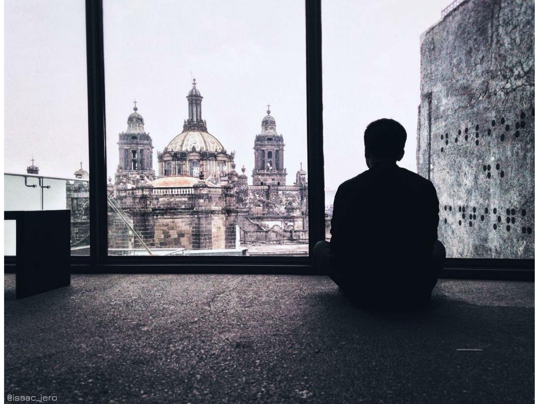 La vista desde la Catedral Metropolitana de la Ciudad de México