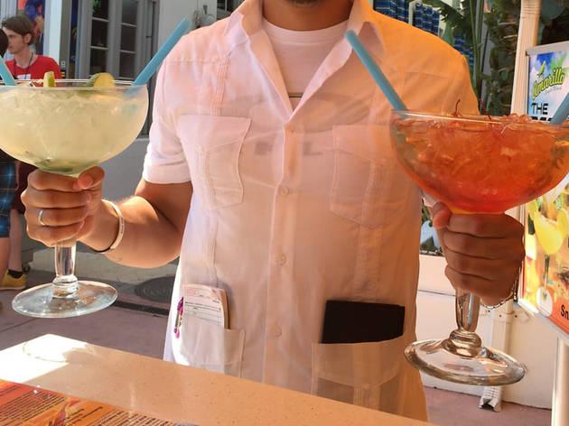 Margaritas on Ocean Drive