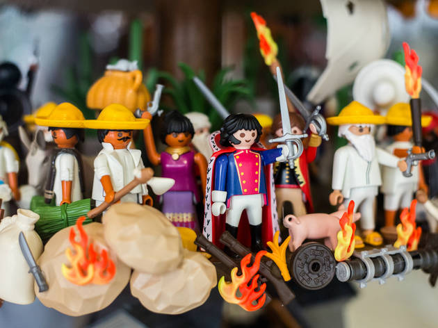 Playmohistoria (Foto: Alejandra Carbajal)