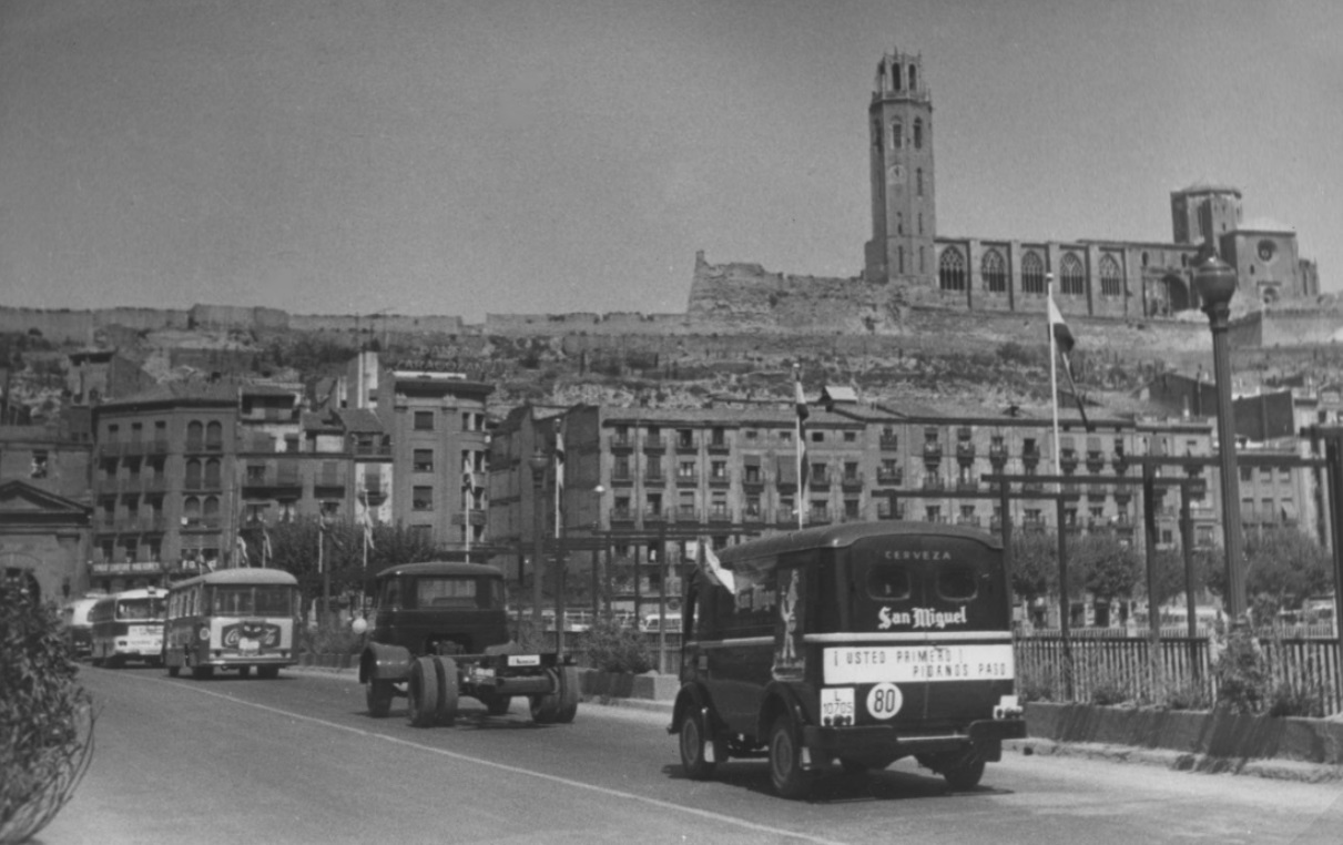 San Miguel anys 60 Lleida