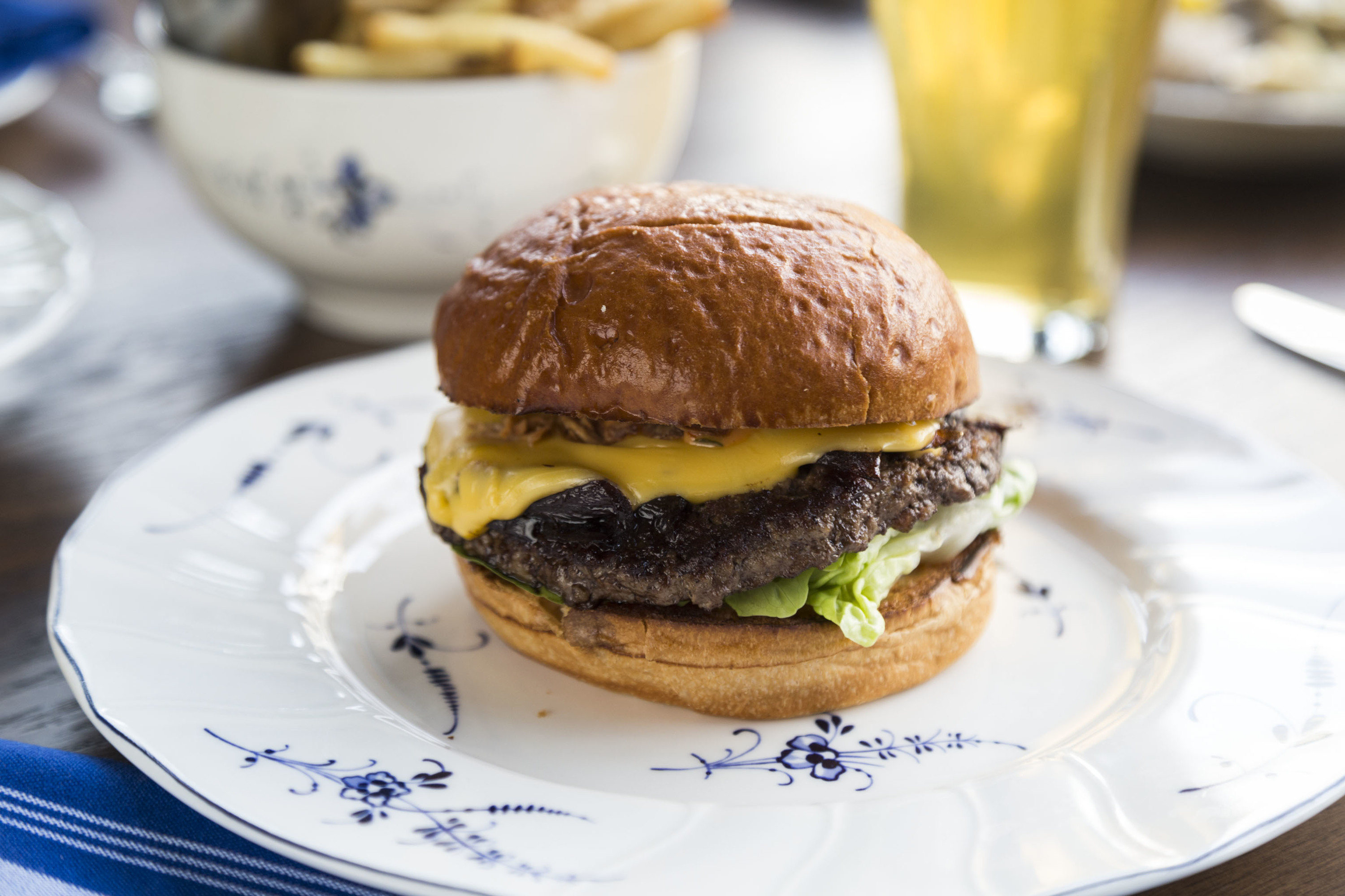Pub Burger at Publican Anker