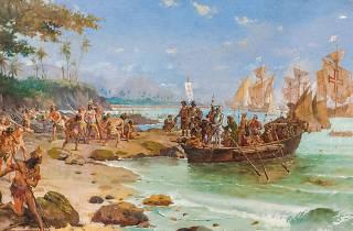 Pedro Alvarez de Cabral Chegada ao Brasil