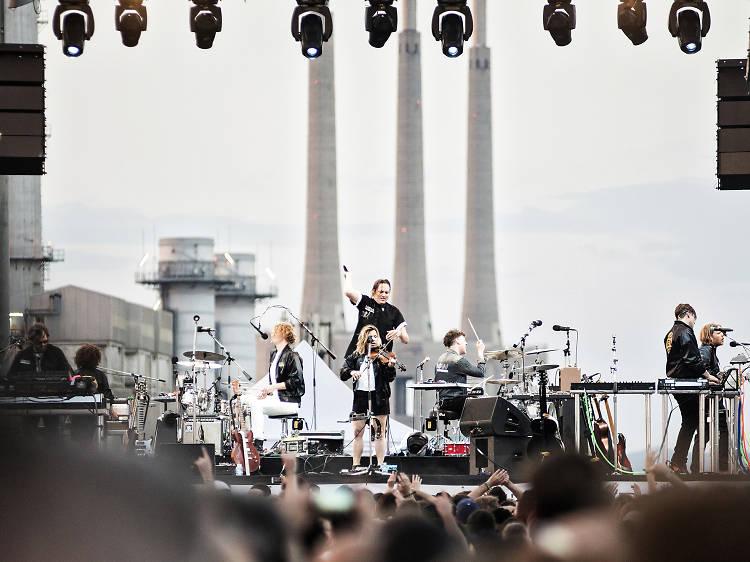 Arcade Fire, concert sorpresa
