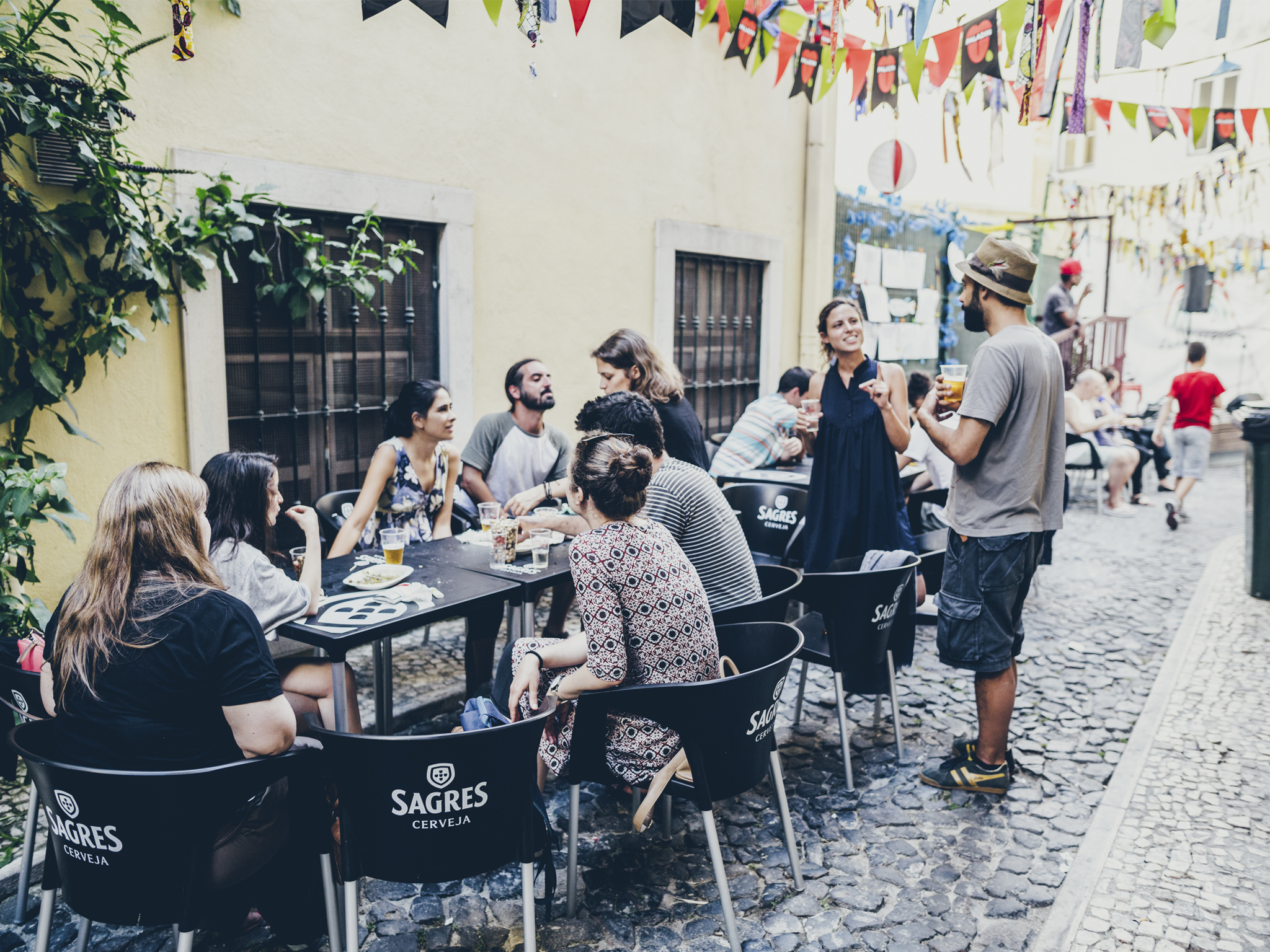 Os melhores arraiais hoje em Lisboa