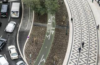 avenidas novas, ciclovia