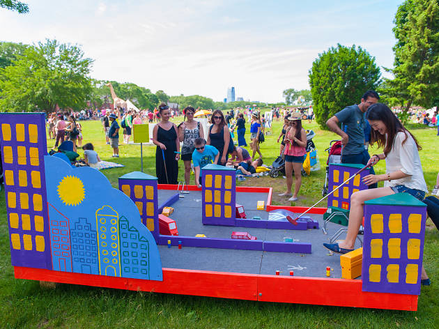 Figment NYC offers a mini golf course, pizza rat game and more fun this weekend