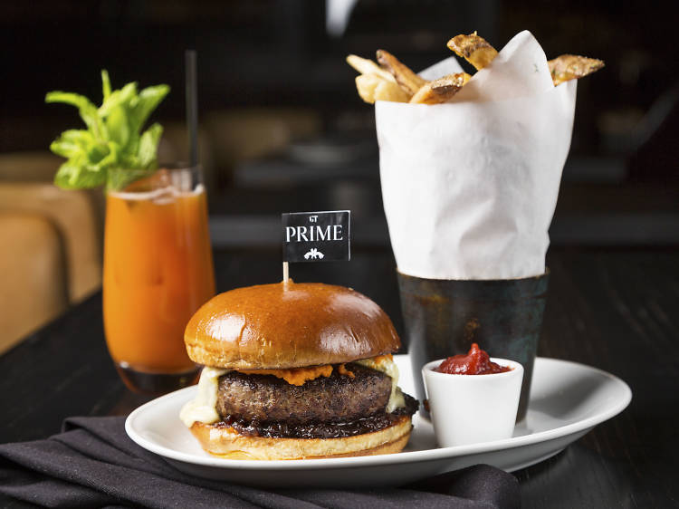 The Burger at GT Prime